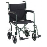 Drive Medical Fly Weight Chair 19  Alum Green