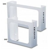 Cardinal / Detecto Scale Glove Box Holder  Wall Mount Holds 3 Boxes White