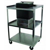 Ideal Medical Products Inc Cart w/ Drawer for 4-Pack Tan Hot Pack Service Center