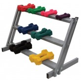 Ideal Medical Products Inc 3-Shelf Dumbell Floor Rack