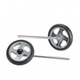 Inspired by Drive Nimbo Non-Swivel Front Wheels, 1 Pair