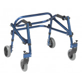 Inspired by Drive Nimbo 2G Lightweight Posterior Walker, Extra Small,  Knight Blue