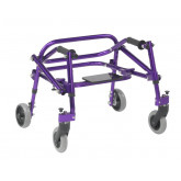 Inspired by Drive Nimbo 2G Lightweight Posterior Walker with Seat, Extra Small, Wizard Purple
