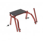 Inspired by Drive Nimbo 2G Walker Seat Only, Small, Castle Red