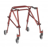 Inspired by Drive Nimbo 2G Lightweight Posterior Walker, Medium, Castle Red