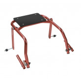 Inspired by Drive Nimbo 2G Walker Seat Only, Medium, Castle Red