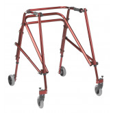 Inspired by Drive Nimbo 2G Lightweight Posterior Walker, Large, Castle Red