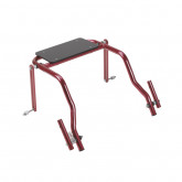 Inspired by Drive Nimbo 2G Walker Seat Only, Large, Castle Red