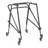 Inspired by Drive Nimbo 2G Lightweight Posterior Walker, Extra Large, Emperor Black