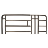 Medline Industries Inc. Full Rail for Medline H/C Beds Spring Loaded  4 Bar  1 Pair