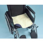 Hermell Products Inc. Sherpa Chair Pad w/Incontinence Barrier 18 x18