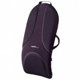 ObusForme Ultra Premium Backrest Support Obusforme  Medium Black