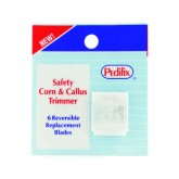 Pedifix Replacement Blades only  Pk/5 for Safety Corn & Callous Trim
