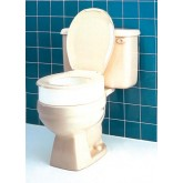 Compass Health Raised Toilet Seat Elongated