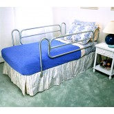 Compass Health Bed Rails (Carex)  (pr) Home Style/Chrome-plated Steel