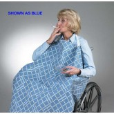 Skil-Care Corp. Smoker's Apron for Wheelchair Blue  30 L x 32 W