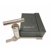 "Sharpstone Classic (3.5"" Inch) Herb and Pollen Heavy Duty T-Shaped Press - 3pc, Small, Silver"