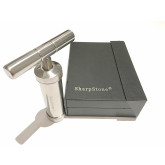"""Sharpstone Classic (6.2"""" Inch) Herb and Pollen Heavy Duty T-Shaped Press - 3pc, Large, Silver"""