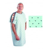 Salk Incorporated Patient I.V. Gown Geometric Print