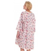 Salk Incorporated Thermagown Patient Gown Ladies Print