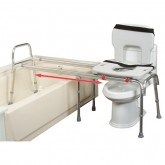 Eagle Health Supplies Inc Toilet-to-Tub Sliding Transfer Bench (Long)