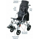 Drive Medical Trotter Mobility Positioning Chair  14  Wide