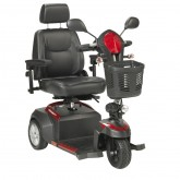 "Drive Medical Ventura Power Mobility Scooter, 3 Wheel, 20"" Captains Seat"