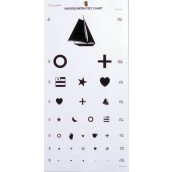 Graham-Field Health Kindergarten Eye Chart 22 x11