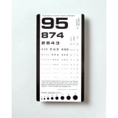 Graham-Field Health Pocket Eye Test Chart