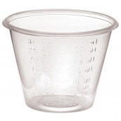 MEDLINE Non-Sterile Graduated Plastic Medicine Cups,1 5000 Each / Case